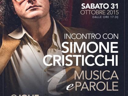 """Cristicchi in: """"Musica e Parole"""" – Sabato 31 Ottobre 2015"""